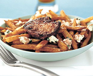 French Fries with Poutine