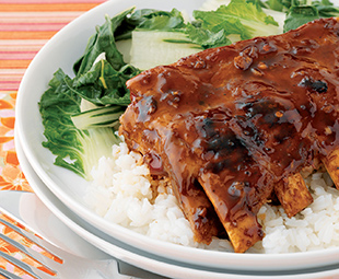 Sticky Ribs with Chinese Flavours