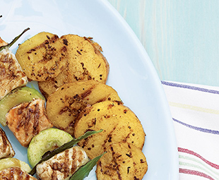Grilled Spice-Coated Potatoes
