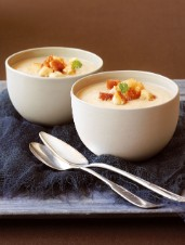 Celery Root and Cèpe Soup