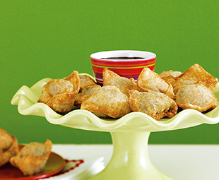 Crispy Vegetable Wontons