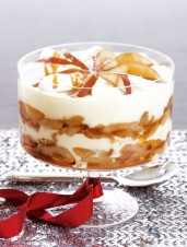 Roasted Pear and Caramel Trifle