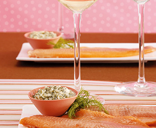 Trout Poached with Fennel