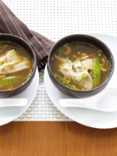 Duck and Ginger Wonton Soup