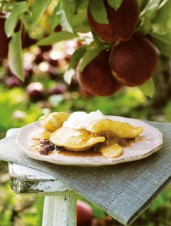 Warm Apple Perogies