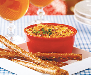 Roasted Onion and Cheddar Dip