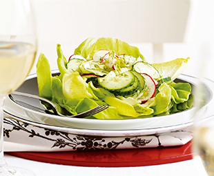 Dilled Cucumber and Belgian Endive Salad