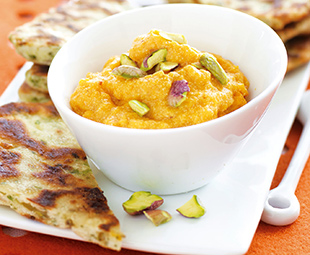 Exotic Butternut Squash and Pistachio Dip