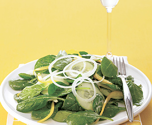 Spinach Salad With Vidalia Dressing