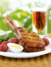 Honey-Glazed Veal Chops