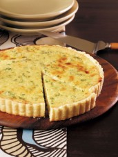 Three Cheese Tart