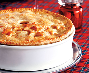 Rich Beef Pot Pie with a Cheddar Crust