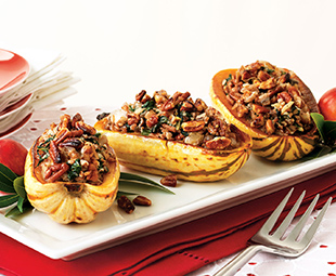 Savoury Stuffed Winter Squash