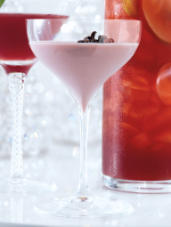 Raspberry Truffle Martini