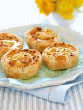 Maple Cream Walnut Tarts