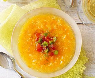 Golden Tomato and Fennel Gazpacho