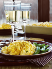 Four-Cheese Macaroni with Curry Crunch