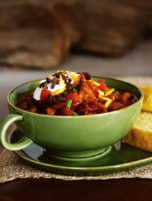 Pork `N Beans Chili Mole