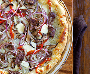Steak Gorgonzola Pizza
