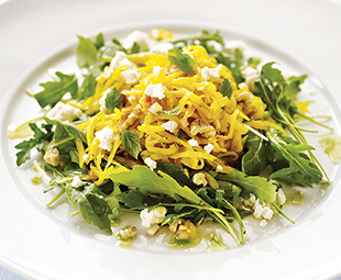 Roasted Golden Beet Salad with Goat Cheese