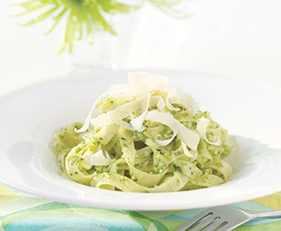 Pasta with Wild Leek Pesto