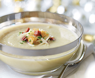 Savoy Cabbage and Celeriac Soup