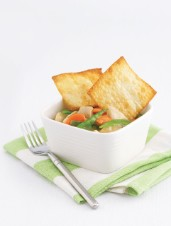 Lemon Grass Chicken Pot Pie