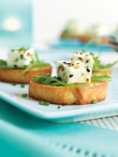 Marinated Feta with Zahtar & Chives