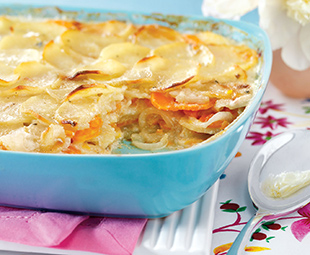 Stilton Scalloped Potatoes