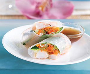 Shrimp & Fresh Herb Salad Rolls
