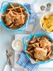 Beer-Battered Fish & Chips