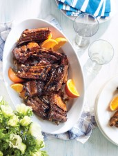 Brown Sugar & Orange-Glazed Baby Back Ribs