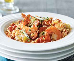 Shrimp & Chicken Jambalaya