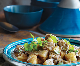 Lamb Tagine with Apples