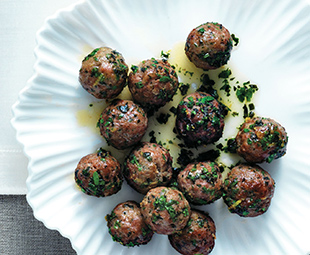 Lamb Meatballs with Moroccan Flavours
