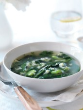Chicken and Greens Soup