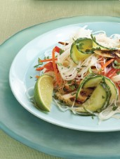 Green Curry Chicken Summer Roll Salad