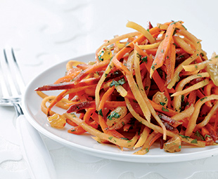 Carrot & Orange Blossom Salad