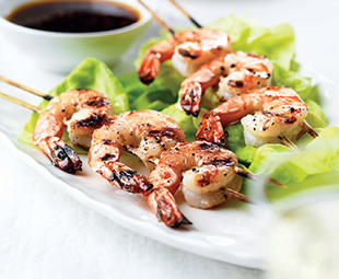 Shrimp and Caramel Sauce