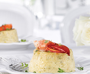 Make-Ahead Lobster Soufflé