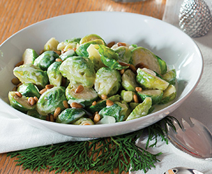 Roman-Style Brussels Sprouts