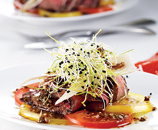 "Steak ""Carpaccio"" Salad"