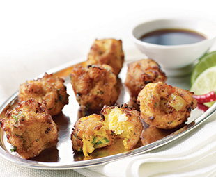 Shrimp & Sweet Potato Fritters