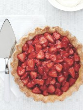 Farmhouse Strawberry Pie with Rosé Wine & Black Pepper