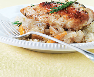 Roasted Marmalade Chicken