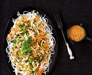 Bang Bang Chicken Noodle Salad