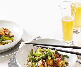 Asparagus and Tofu Stir-Fry