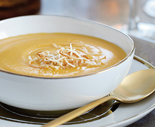 Coconut-Spiked Squash Soup