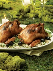 Thyme & Olive Butter Roasted Cornish Hens