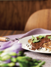 Seared Chicken with Mexican Mole Sauce